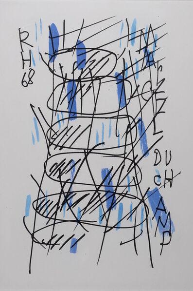 Raoul Hausmann, 'Hommage à Marcel Duchamp', 1971