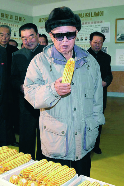 João Rocha, 'Looking at Corn, from the book Kim Jong Il Looking at Things', 2012