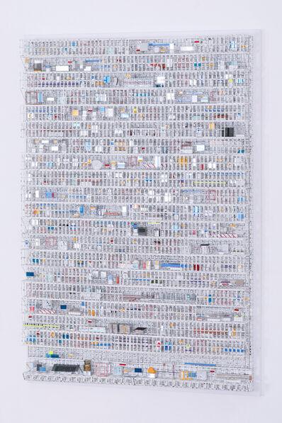 Katsumi Hayakawa, 'Grid Structure #01016', 2016