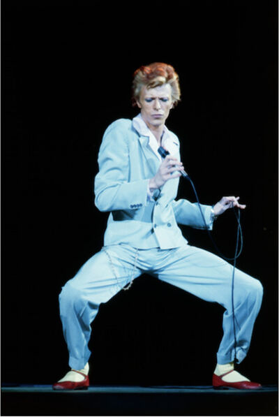 Terry O'Neill, 'David Bowie, Blue Suit, (1974)', ca. 1974