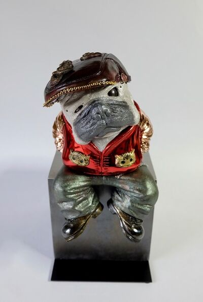 Iwaisako Yoshiro, 'Pug With Shinny Jacket', 2016