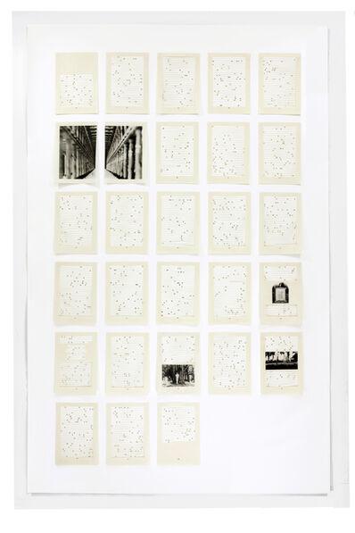 Jane Benson, 'Song for Sebald   Chapter 9', 2016