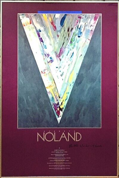Kenneth Noland, 'NOLAND (Hand Signed)', 1986