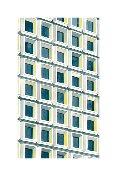 Amy Park, 'Yellow Light, NYC', 2017