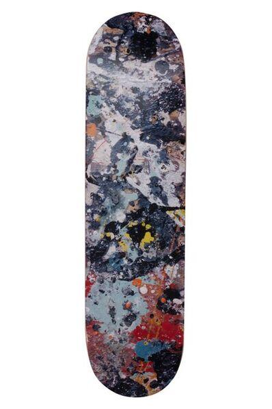 Jackson Pollock, 'Skateboard deck ', 2017