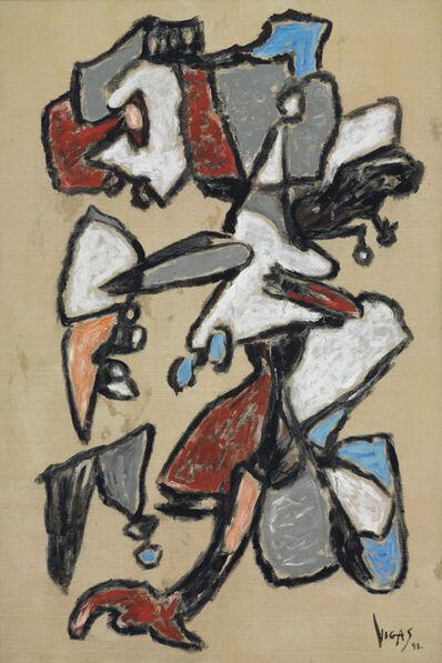 Oswaldo Vigas, 'El gallo de la pasión', 1998