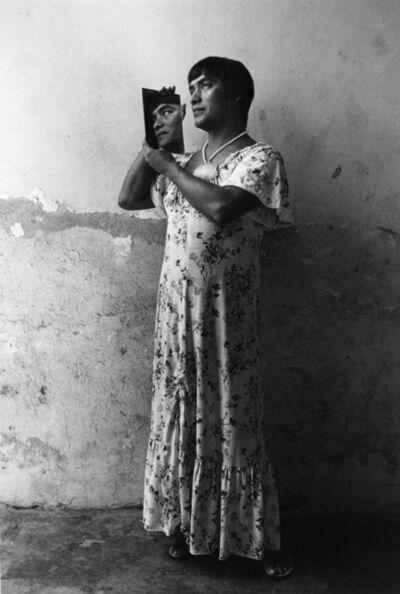 Graciela Iturbide, 'Magnolia en el espejo, Juchitán, Oaxaca', 1986