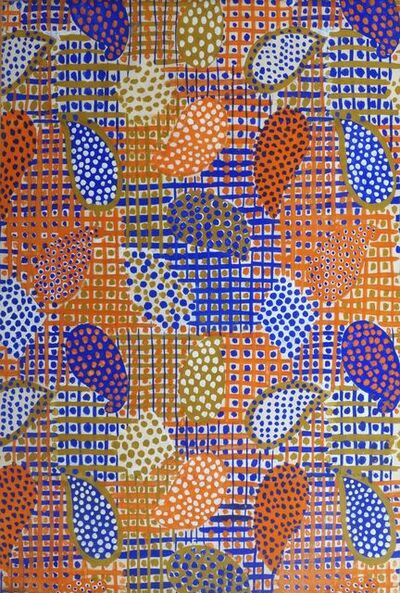 Raoul Dufy, 'Palmes Quadrillees et Pointilles'
