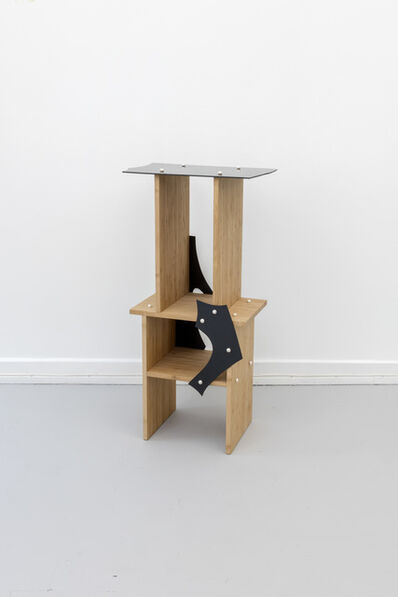 Soft Baroque, 'Pearl Screws Bamboo Side Table', 2018