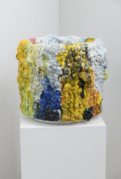 Tony Marsh, 'Crucible Series (polychrome), 14 x 17 x 17 inches (approx.)', 2018