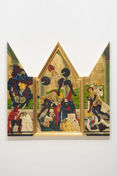 Masami Teraoka, 'The Cloisters/Arezzo Converters', 2015