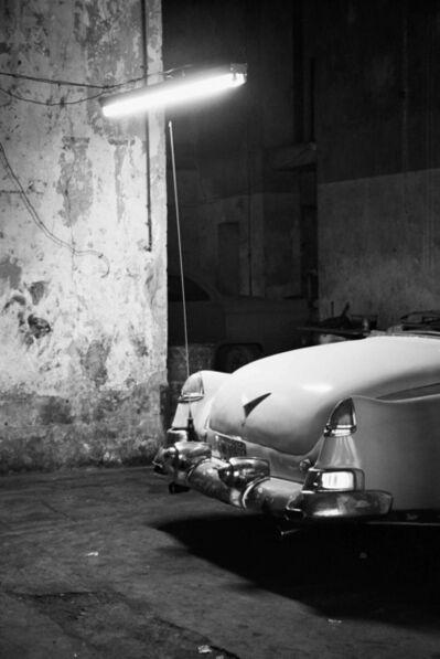 Henry Horenstein, 'Car at Night, El Malecon, Cuba', 2000