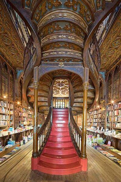 Reinhard Gorner, 'Grand Opening, Lello Bookshop, Portugal', 2015