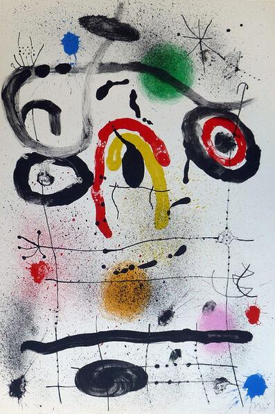 Joan Miró, 'Personnage au dessus l'Horizon (M. 390a)', 1965