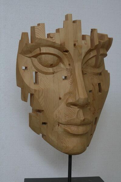 Nogueira Lopes, 'Cabeça de Mulher  ', 2018