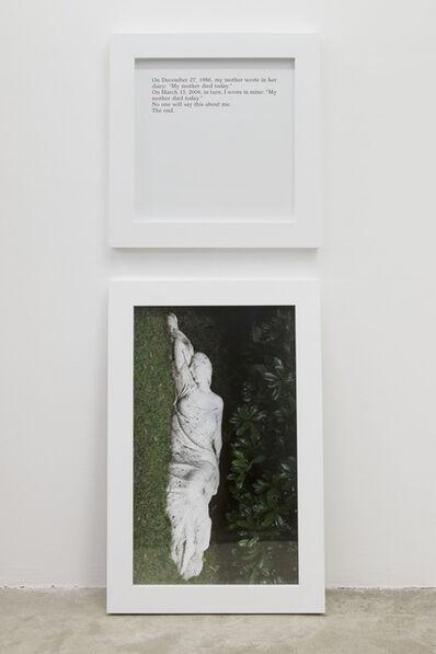Sophie Calle, 'Aujourd'hui ma mère est morte / Today my mother died', 2013