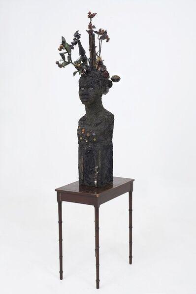 Wangechi Mutu, 'Flower head', 2015