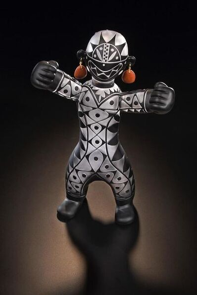 Preston Singletary, 'Pueblo Warrior Figure IV', 2016