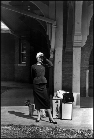 "Dennis Stock, 'USA. Long Island, New York. Audrey HEPBURN during the filming of ""Sabrina"".', 1954"