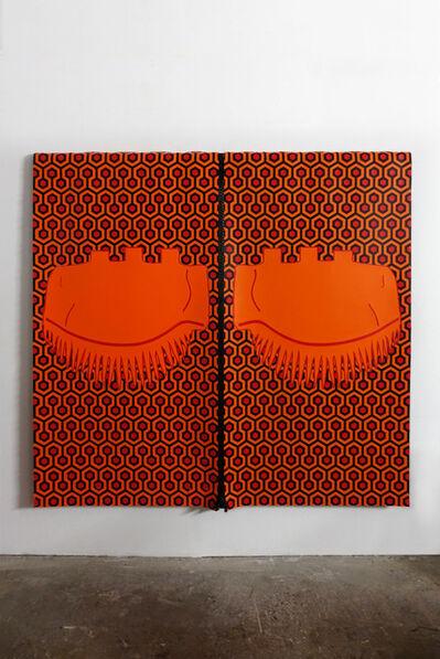 Sarah Derat, 'les yeux clos', 2021