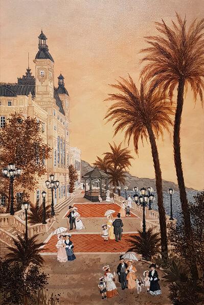 Fabienne Delacroix, 'Les terrasses du Casino de Monte-Carlo',