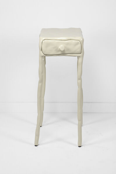 Maarten Baas, 'Clay Table With Drawer White', 2013
