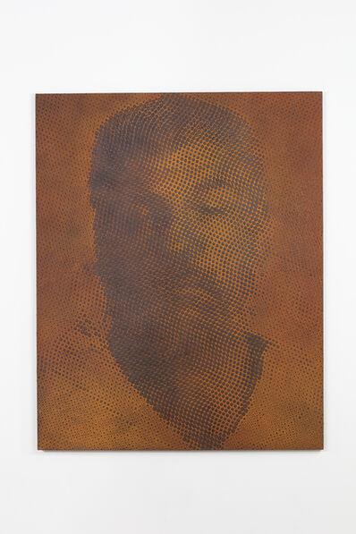 """Tomohiro Kato, 'iron-oxide painting """"W.S./T****68""""', 2019"""
