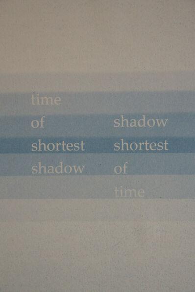 François Bucher, 'Untitled. Contact. Un evento celeste. No, no hay palabras. No hay palabras para describirlo. Poesía! Deberían haber mandado a un poeta. Tan lindo. Tan lindo... yo no tenía ni idea', 2016