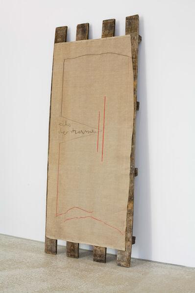 Bernd Lohaus, 'Echo der Stimme', 1991