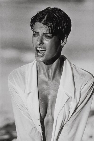 Peter Lindbergh, 'Linda Evangelista, Bahamas', 1989