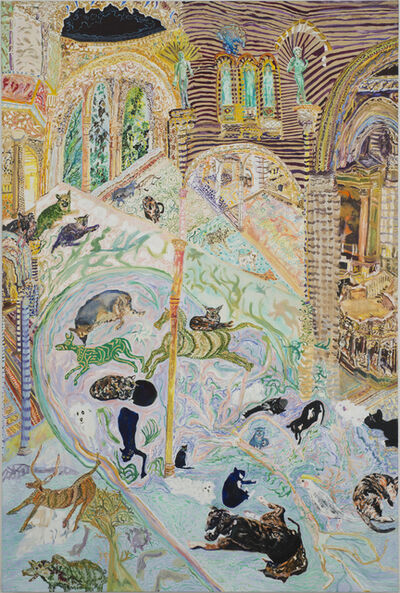Olive Ayhens, 'Memories of Beasts Past', 2013