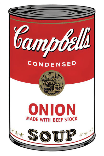 Andy Warhol, 'Campbell's Soup Can 11.47 (Onion)', 1960s printed after