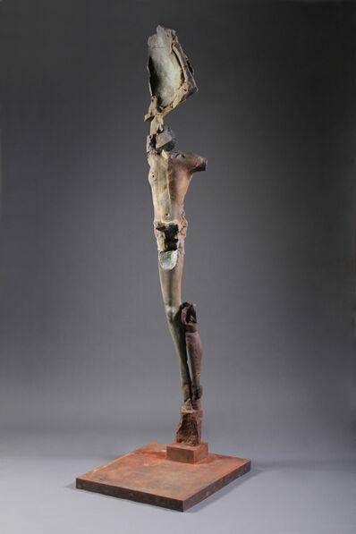 Stephen De Staebler, 'Single Winged Figure on Plinth, 4/4', 2010