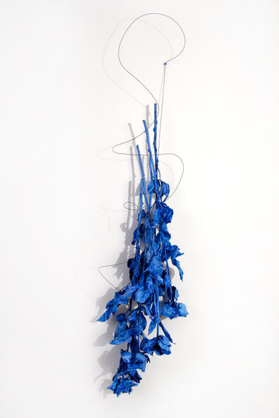 Linda Ridgway, 'A Gathering of Blue for Yves', 2013