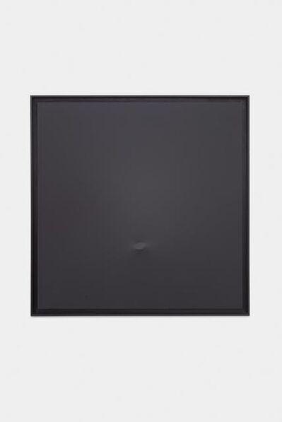 Turi Simeti, 'Un ovale nero', 1978