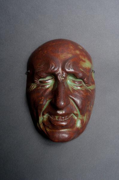 Pierre Adrien Dalpayrat, 'Commedia dell'Arte Mask', ca. 1892