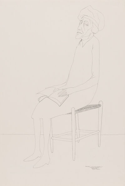 Benny Andrews, 'Portrait of Viola Andrews', 1986