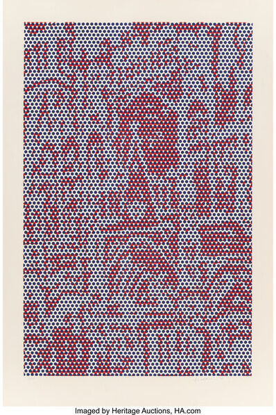 Roy Lichtenstein, 'Cathedral #4, from Cathedral Series', 1969