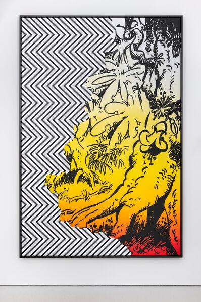 Claudia Comte, 'The Golden Son (zigzag/jungle series) 5/8', 2019