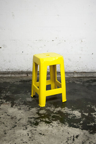 Cameron Platter, 'Yellow Stool I', 2017
