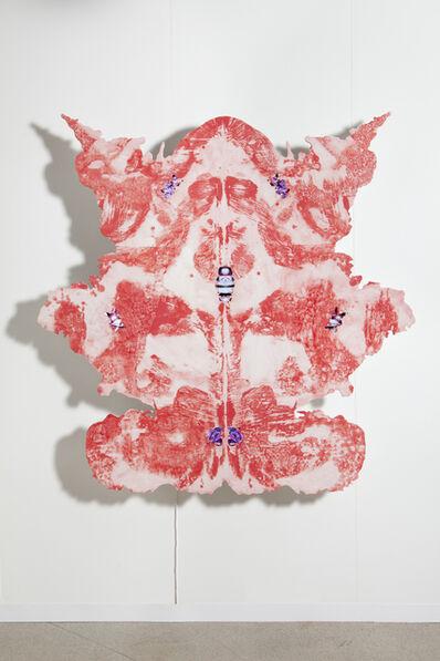 Tony Oursler, 'Strawberry panel ', 2013