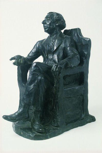 Henry Enrico Glicenstein, 'Portrait of Israel Zangwill', 1923