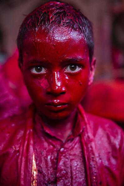 Cristina Garcia Rodero, 'INDIA. Holi festival.', 2017