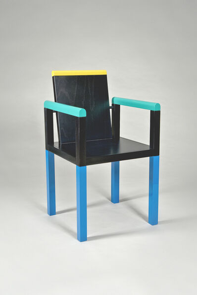 George Sowden, 'Palace Chair', 1983