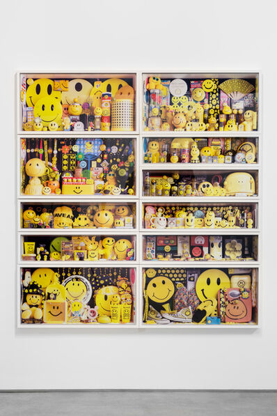 Mark Vessey, 'Norman's Smilies', 2019