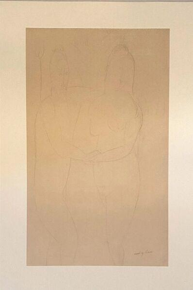 Amedeo Modigliani, 'Adame et Eve', 1959