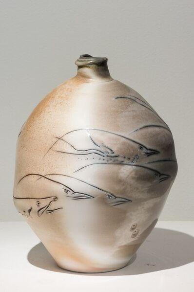 Frank Boyden, 'Birds and a Fish Vase', 2010