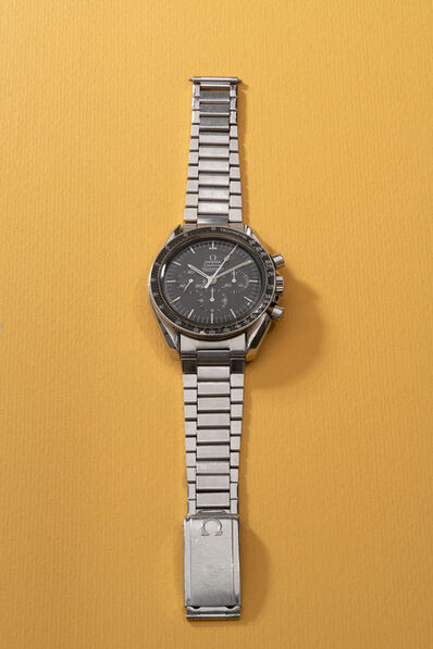 OMEGA, 'An attractive and rare stainless steel chronograph wristwatch with bracelet , retailed by Tiffany & Co.', 1970