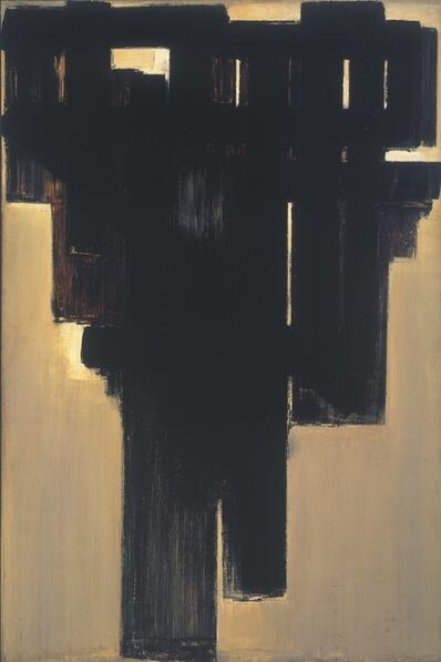 Pierre Soulages, '3 Avril 1954', 1954