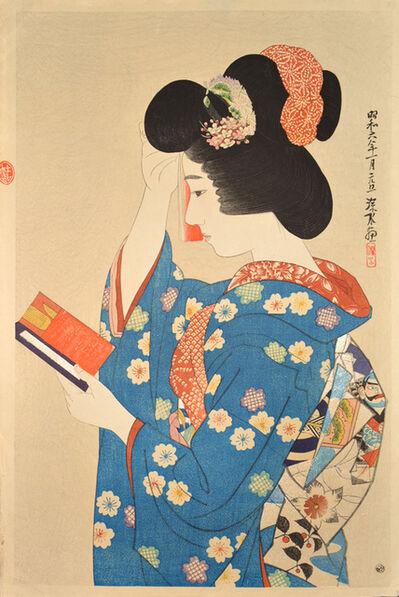 Itō Shinsui, 'Hand Mirror', 1931